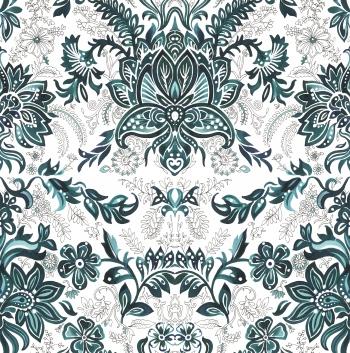 Watercolored classic motifs-GRN Vrs.