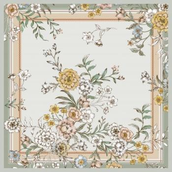 Linelike floral