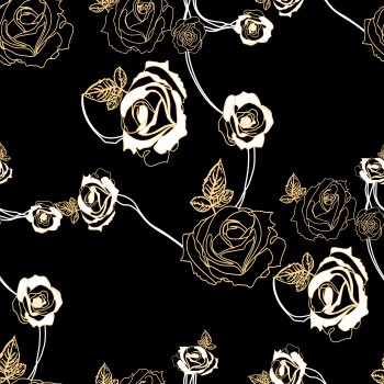 Lineart Roses