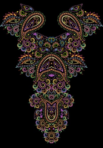 Paisley Ornaments