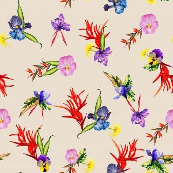 Flowers` Footprints
