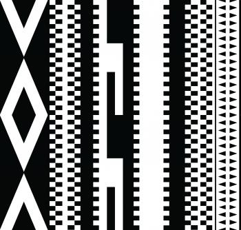 Ethnic tribal stripes