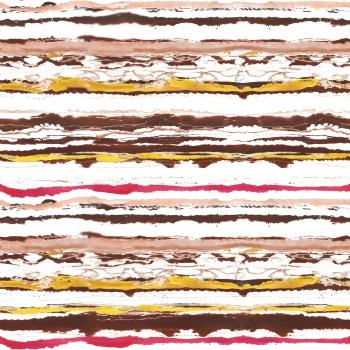 Watercolored Stripes