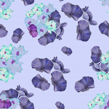 Purple Full Of Joy