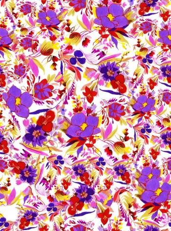 Big-purple flowers