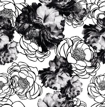 Unique Black Flowers