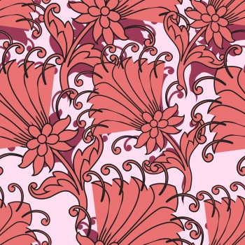 Ethnic in Living Coral