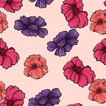 Vivid Blossoms on Heaven