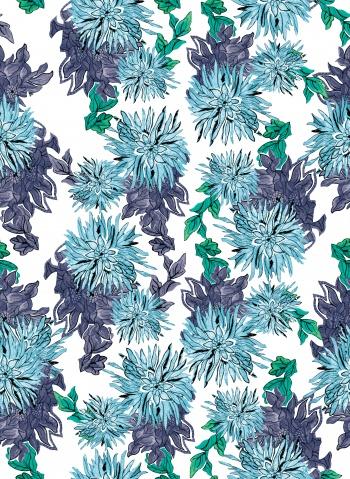 Blue flowers_54
