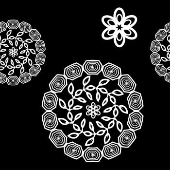 Arabic magic mandala