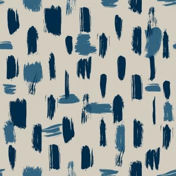 Abstract brush stroke design