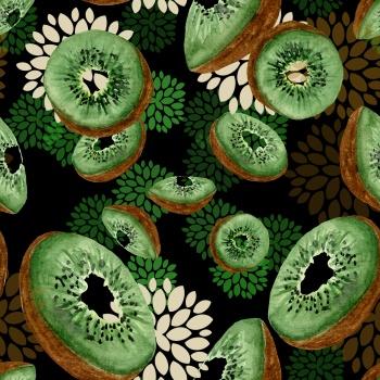 Seamless Kiwi Pattern