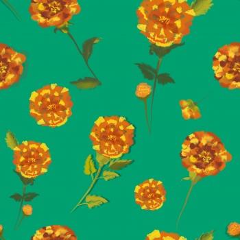 Marigold magic (Mint green)