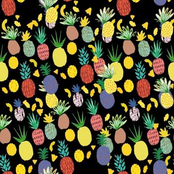 Pineapple, fruit