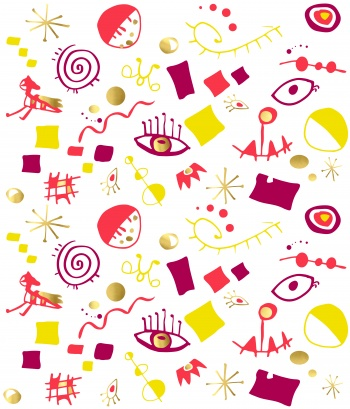 Miro inspired print #1