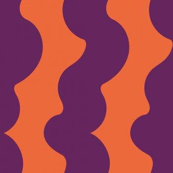 Purple twisted stripes