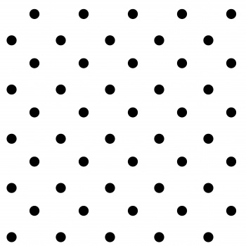 Black and white polkadots