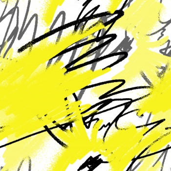 Black and yellow Doodle