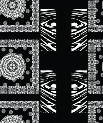 Black&white ornamental