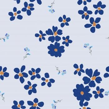 Blue Ditsies