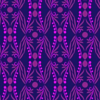 Blue with purple magic