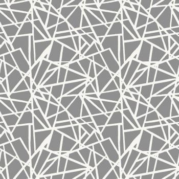 Bold grey painterly lines seamless design