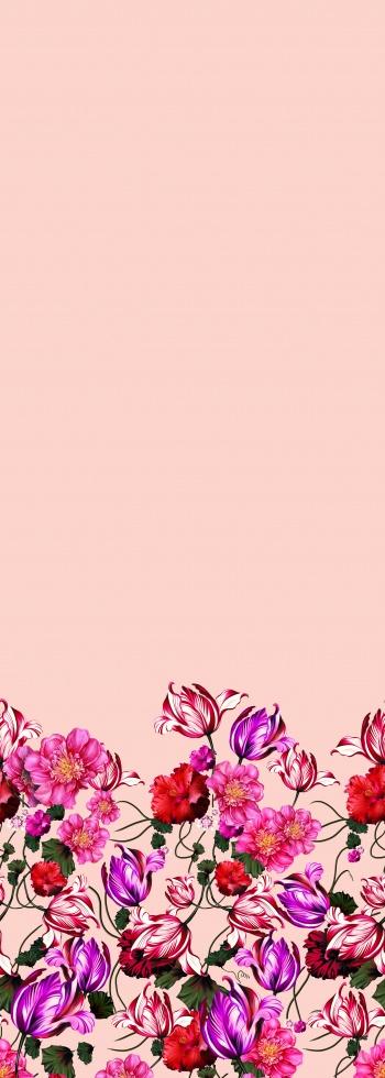 Bordure Florale