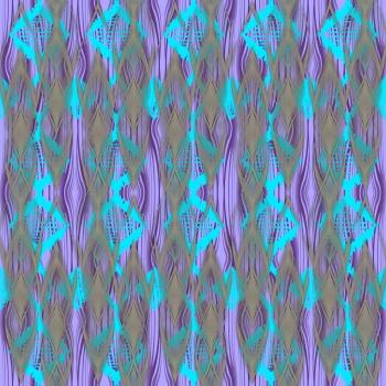 Bright Colored Geometric Pattern