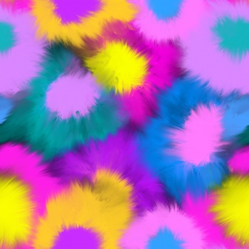 Bright Tie Dye