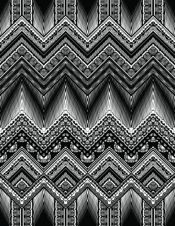 Bright tribal motifs