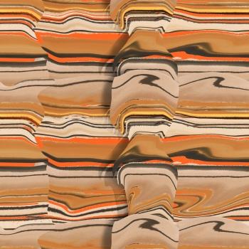 Brown- Folden Fabric Looks