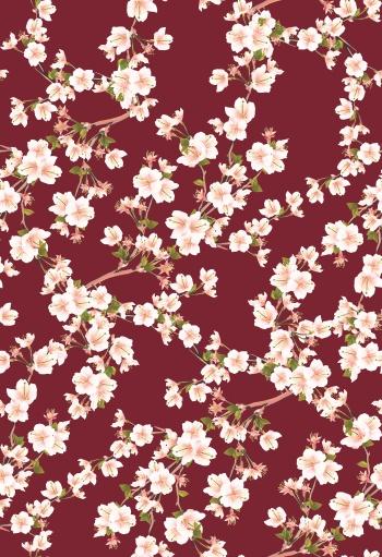 Burgundy spring branch