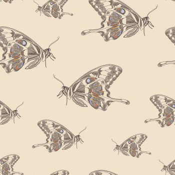 Butterfly Fields - Couture Butterfly - change your background color to desired color.