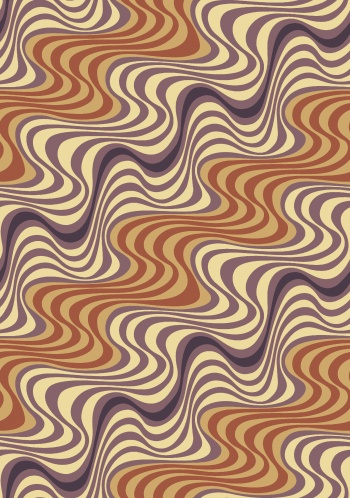 seamless abstract wave design
