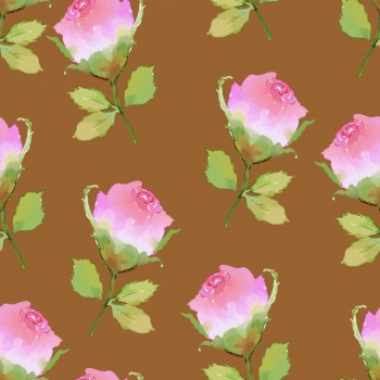 Rose, peony