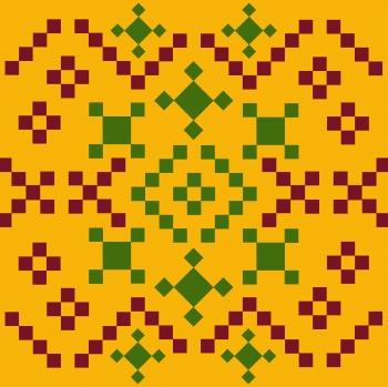 Ethnic folk ornament