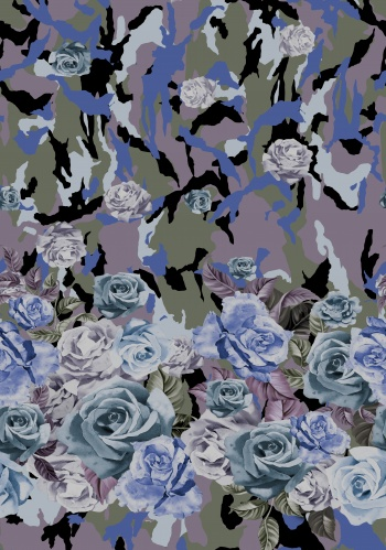 Camouflage -Roses