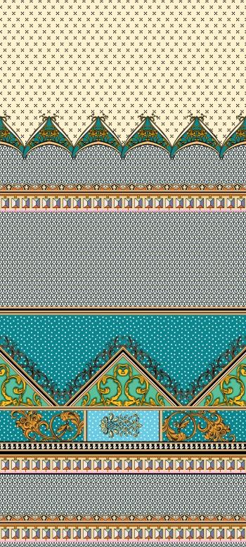 Classic motifs,geometric shapes and polka dots