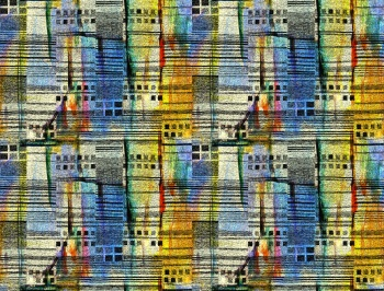 colorful abstract checks stripe pattern
