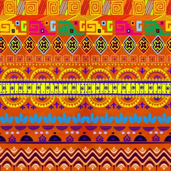 Colorful African Print