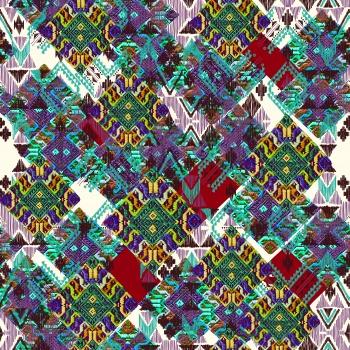 Colorful anatolian motifs.