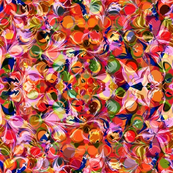 Colorful and Seamless abstract pattern
