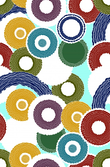 Colorful circles and rounds