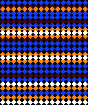 Colorful Diamond Shapes