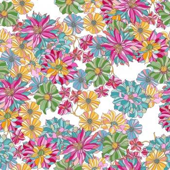 Colorful Ditsies