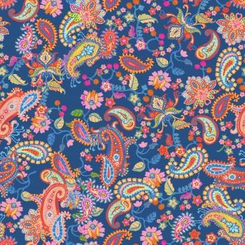 Colorful Paisleys
