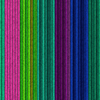 Colorful thin stripes