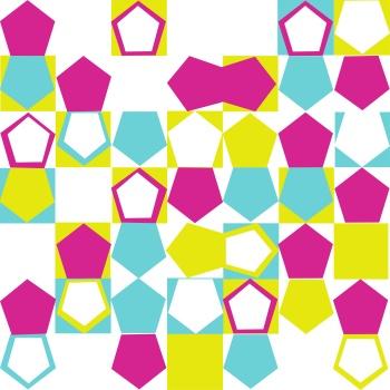 Colourful and Fun Polygonal Design