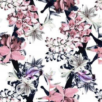 Cotton lilies