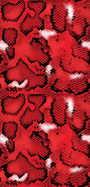 Crimson snake